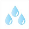 水 イラレ/ベクトルデータ