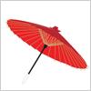 所著溢れる和風な傘 イラレ/ベクトルデータ【無料配布】