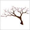 春の到来を感じさせる 梅の樹 イラレ/ベクトルデータ【無料配布】