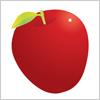 りんご イラレ/ベクトルデータ【無料配布】