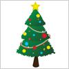 クリスマスツリー イラレ/ベクトルデータ【無料配布】