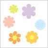 花がら イラレ・ベクトルデータ【無料配布】