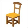 木製の椅子のイラスト イラレ/ベクトルデータ【無料配布】