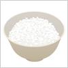 白いご飯にお茶碗 イラレ/ベクトルデータ【無料配布】