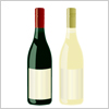 ボジョレーにあやかって、赤ワインと白ワインのボトルセット