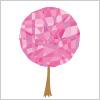 キラキラと輝く桜の木のイラスト