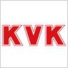 水栓金具などを製造しているKVKのロゴマーク