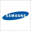 韓国の家電メーカー サムスン(samsung)のロゴ