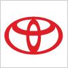 自動車メーカートヨタ自動車(TOYOTA)のロゴ