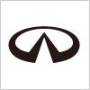 高級車ブランド、インフィニティ (INFINITI) のロゴ
