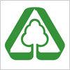 古紙再生促進を表すグリーンマーク