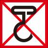 手鈎禁止を表すロゴアイコンマーク