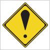 その他の危険を表す道路標識