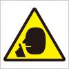「静かに!」館内等での私語や騒音注意を表すアイコン標識マーク