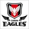 キヤノンイーグルス(CANON EAGLES)のロゴマーク
