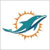 マイアミ・ドルフィンズ (Miami Dolphins) のロゴマーク