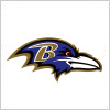 ボルチモア・レイブンズ (Baltimore Ravens) のロゴマーク