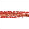 赤いクレヨンで描いたようなイラレ・アートブラシ