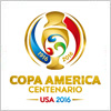 コパアメリカ センテナリオUSA 2016のロゴマーク