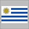 ウルグアイの国旗パスデータ