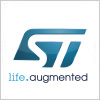 STマイクロエレクトロニクス(STMicroelectronics)のロゴマーク
