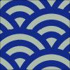 青海波柄のパターン素材
