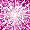 ピンク色の真ん中に集まる効果線