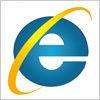 インターネットエクスプローラー(IE)のロゴアイコンマーク