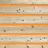 隙間のある木材の切り抜き画像