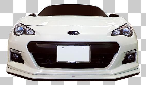 スポーツカー 車 正面 suzuki 切り抜き透過画像