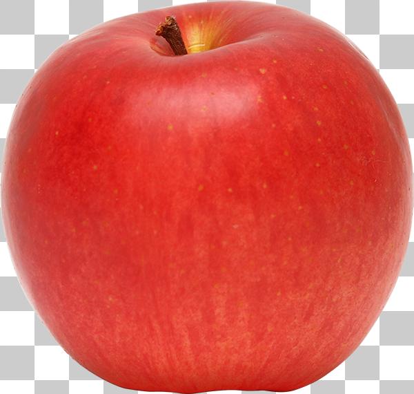 りんごの切り抜き透過画像