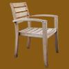 木製の椅子の切り抜き透過写真画像