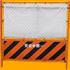 安全第一フェンスの切り抜き画像