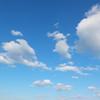 沖縄の冬の空