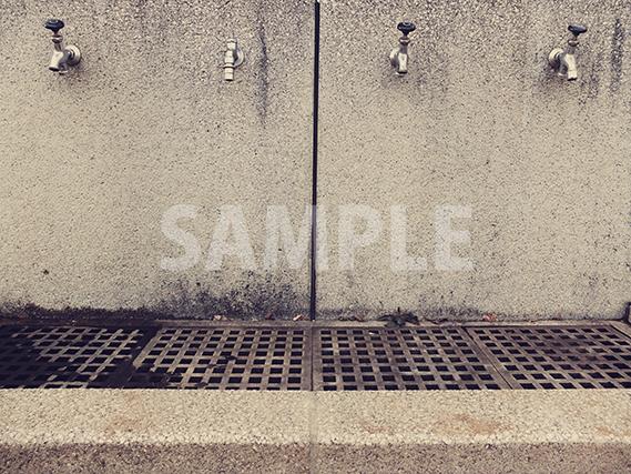公園の手足洗い場