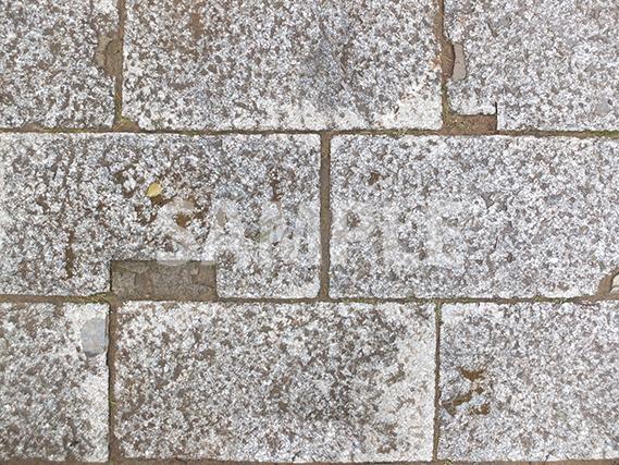 参道の石畳のテクスチャー