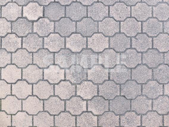 八角形を変形させたようなブロック