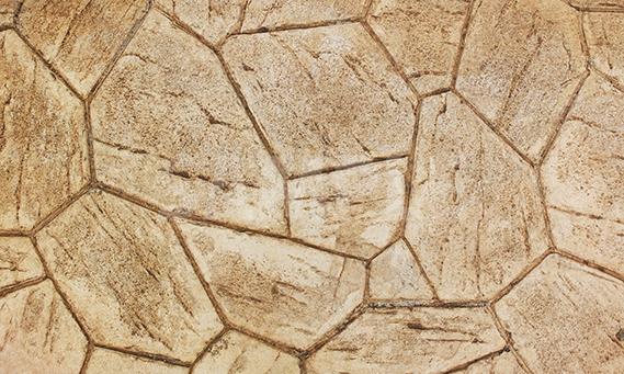 ランダムに並べられた石のブロック