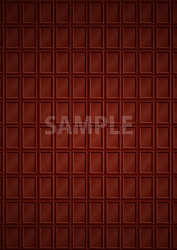 大きな板チョコ模様のA4サイズ背景素材