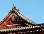 鶴岡八幡宮の瓦屋根