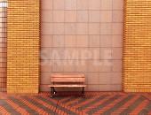 ひっそりと佇むベンチ