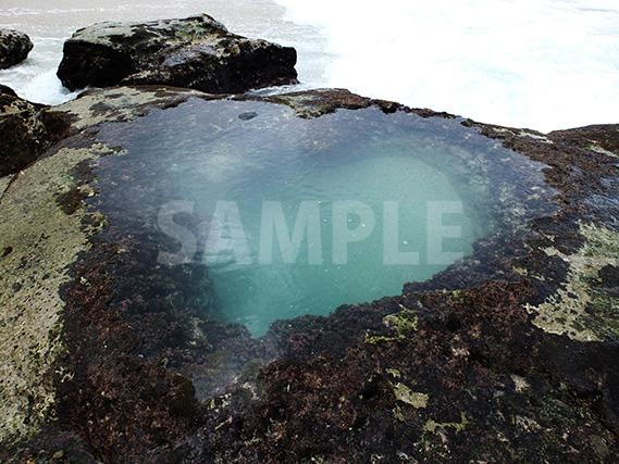 奄美大島・ビラビーチにあるハートロック