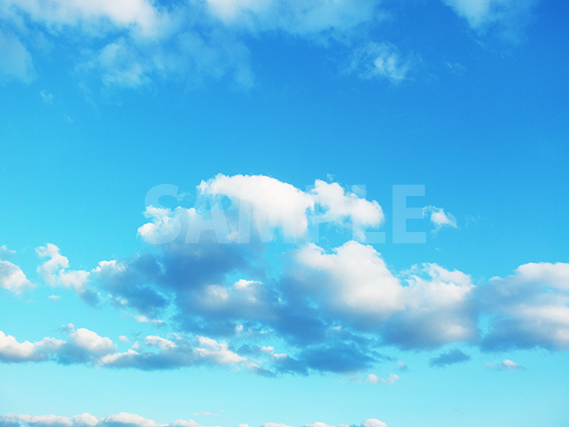 空と雲の写真