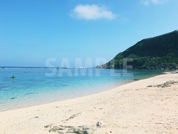 宮古島の青い海