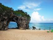 沖縄県宮古島、砂山ビーチ