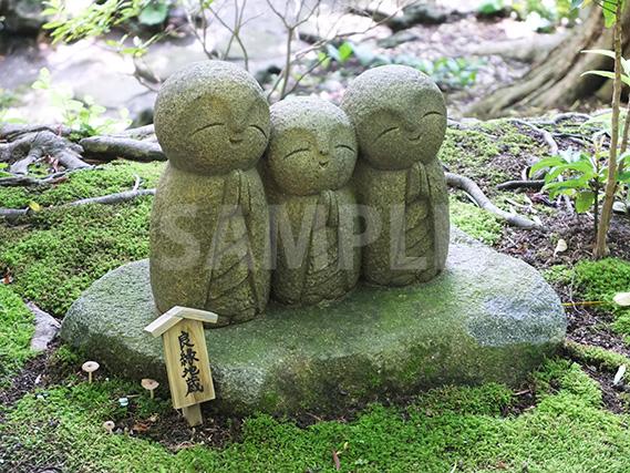 鎌倉長谷寺の緑地地蔵