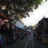 バリ島・ウブド村の街並み