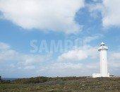東平安名岬の灯台