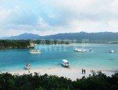 石垣島川平湾の青い海