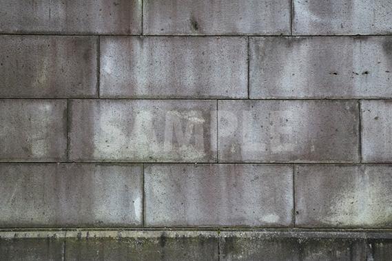 石のブロック塀のテクスチャー写真